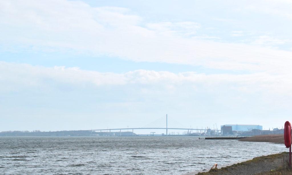Rügenbrücke über die Ostsee